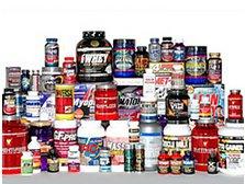 Ассортимент спортивных добавок и спортивного питания